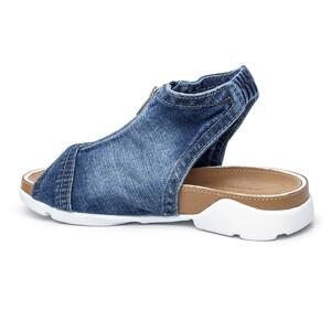 762b0907df004 Rifľové džínsové jeansové dámske topánky - mustang shoes