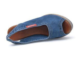 aff5ec05fa2b ... Riflové dámske sandále Lanqier 44C-245