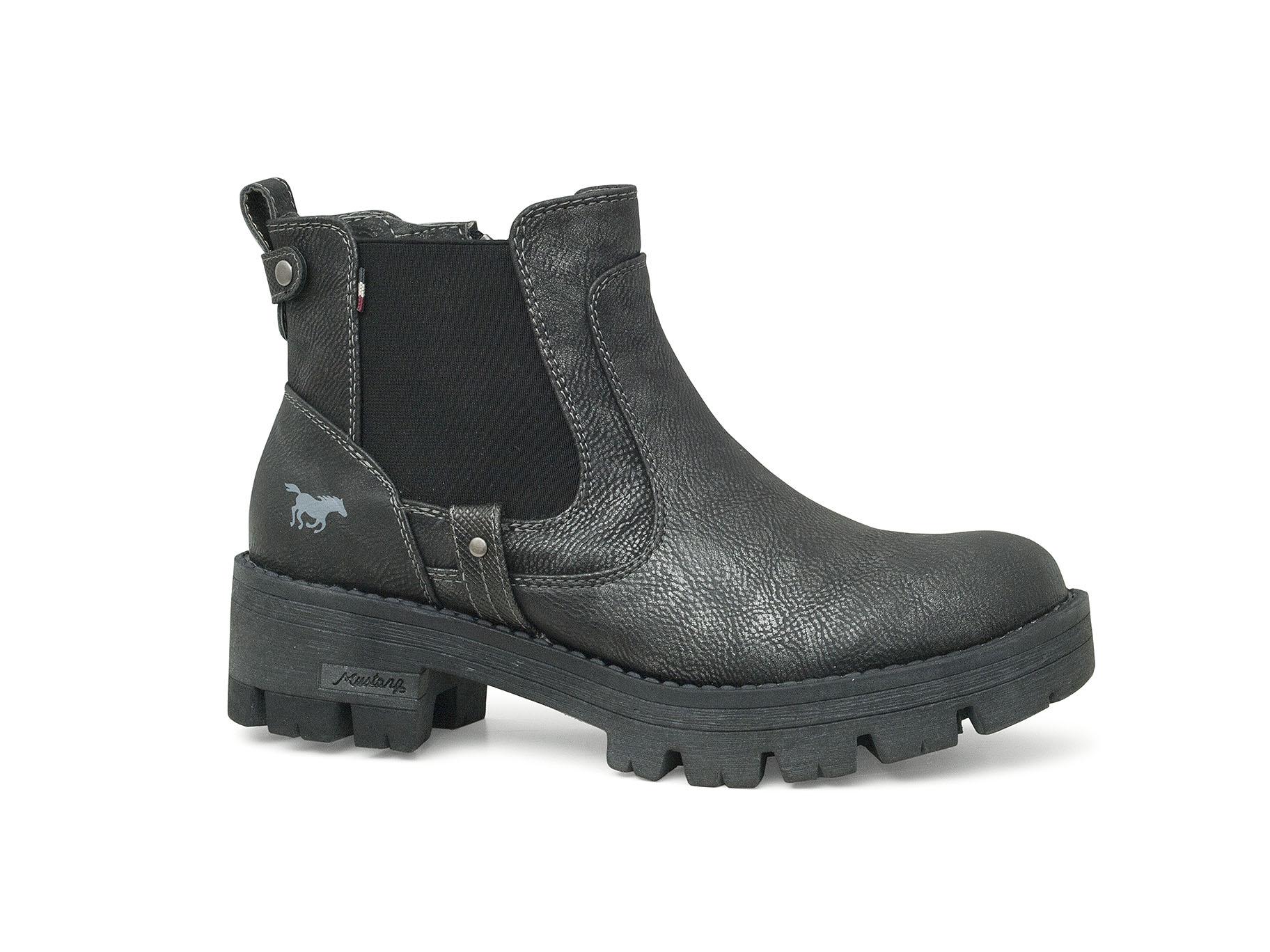 b807545d36966 Mustang botki, boots, stiefelette, polokozačky, polokozačky, čižmy nízke,  bottines, ...